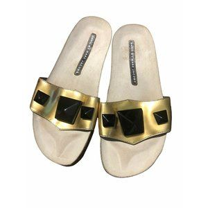 Marc by Marc Jacobs Metallic Gold & Black Bejewele